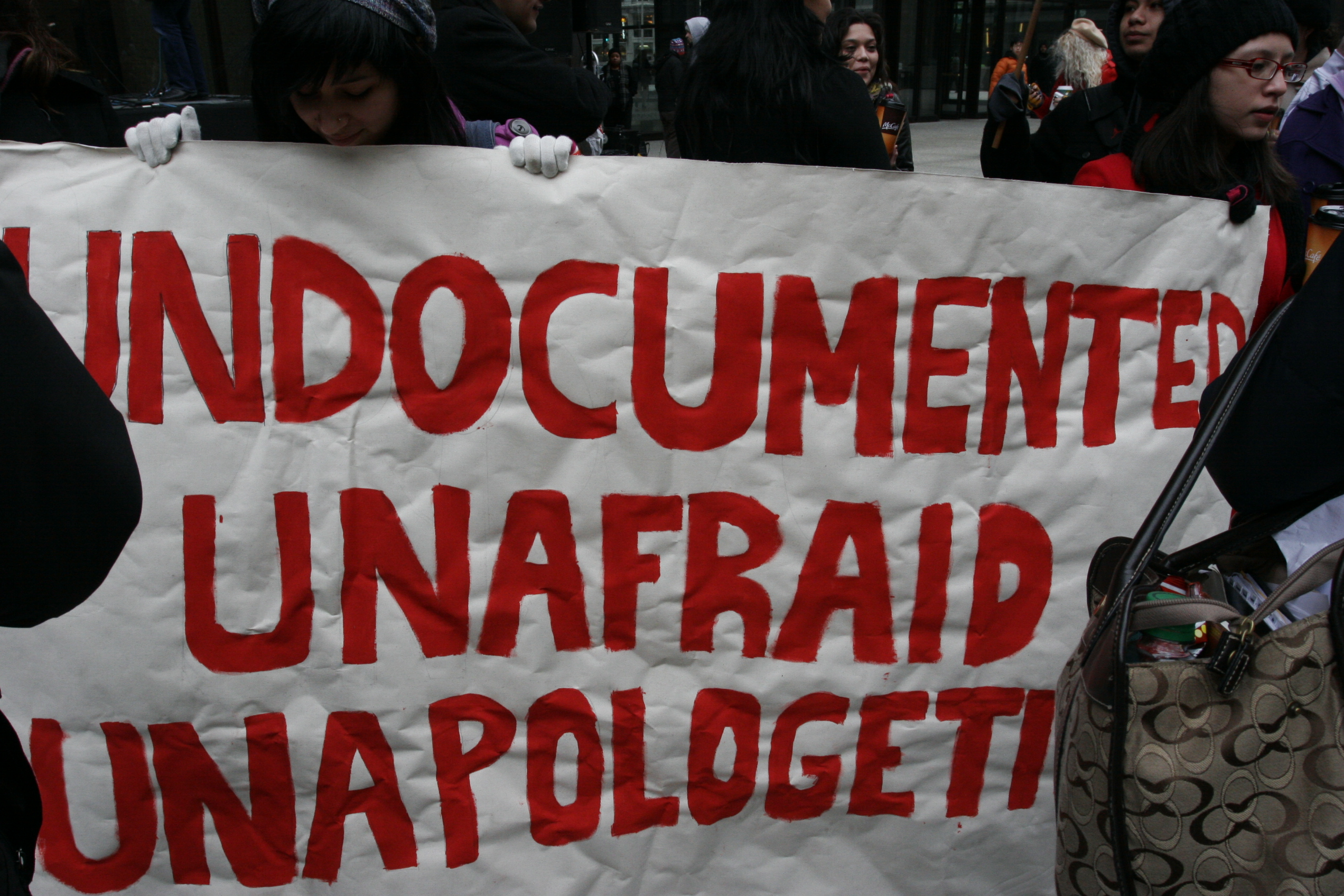 Image result for illegals unafraid